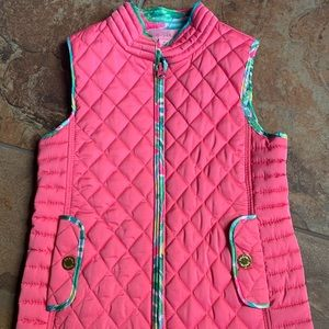 Girls Lilly Pulitzer vest (size small, 4-5)